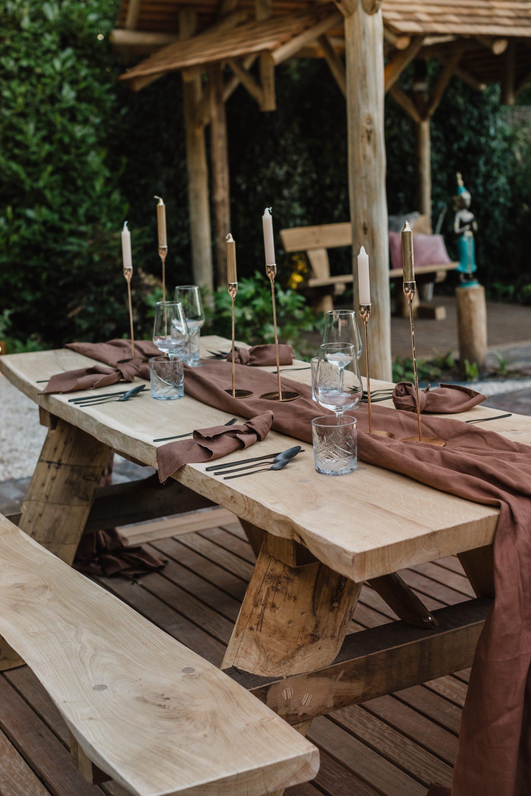 picknicktafel kopen | mooie picknicktafels | sfeervol buitenmeubiliair