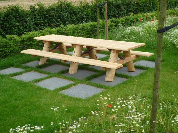 Picknicktafel Douglas hout - Picknicktafel kopen - stevige picknicktafel