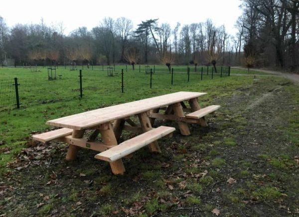 Rolstoel Picknicktafel 4 meter Douglas